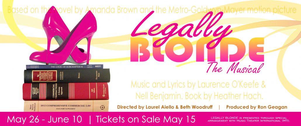 Legally Blonde Website Banner