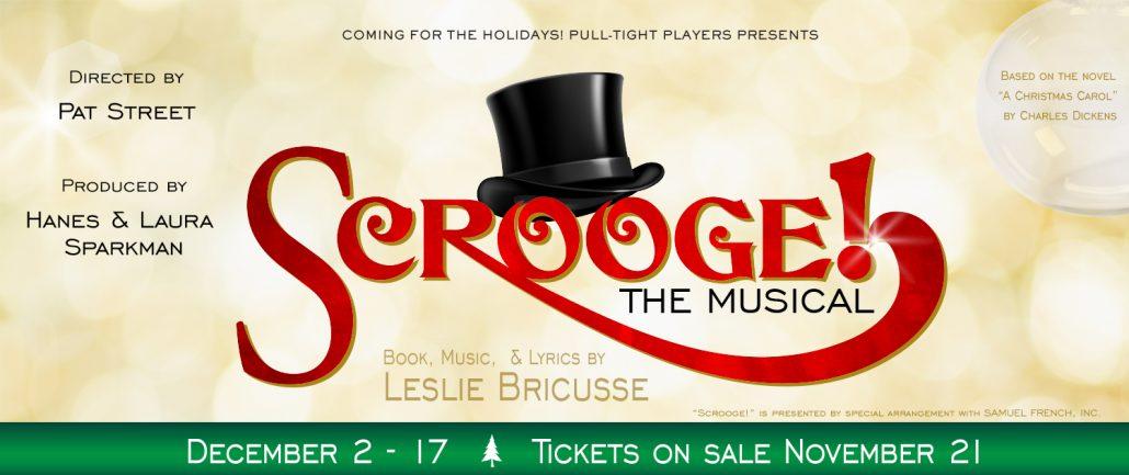 Scrooge 2016 Website Banner