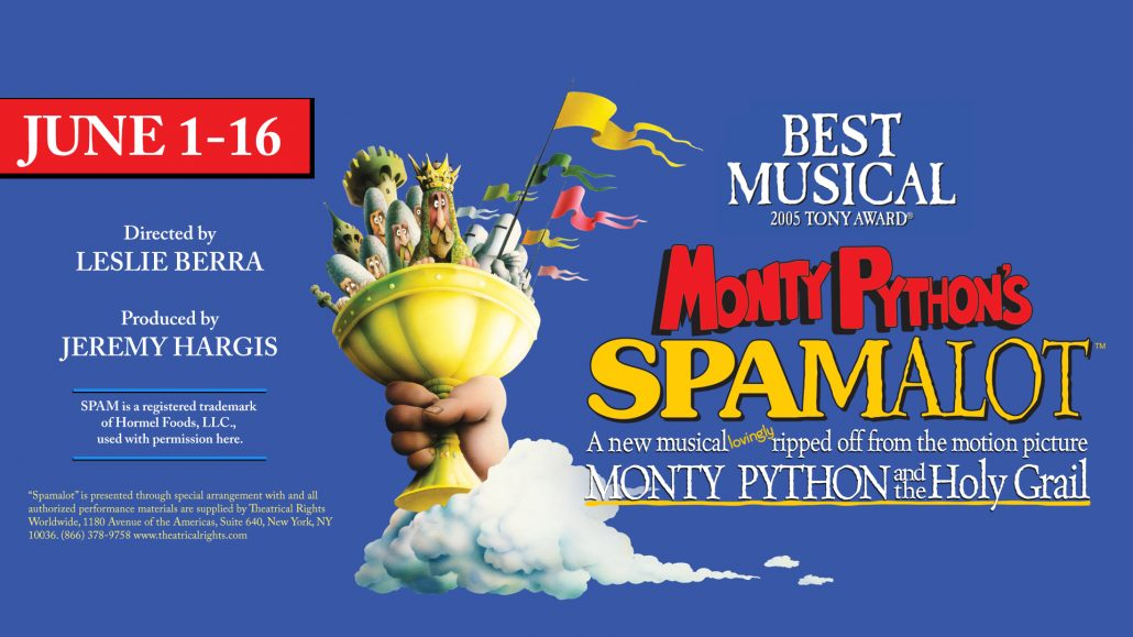 Spamalot 2018 Facebook Cover