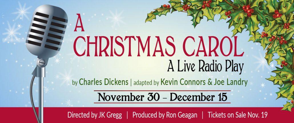 Christmas Carol Live Radio Play 2018 Website Banner