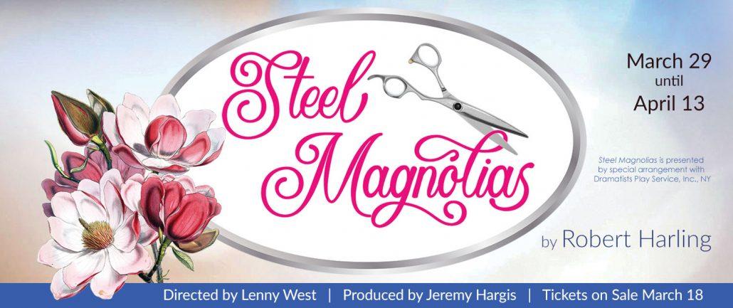Steel Magnolias 2019 website banner