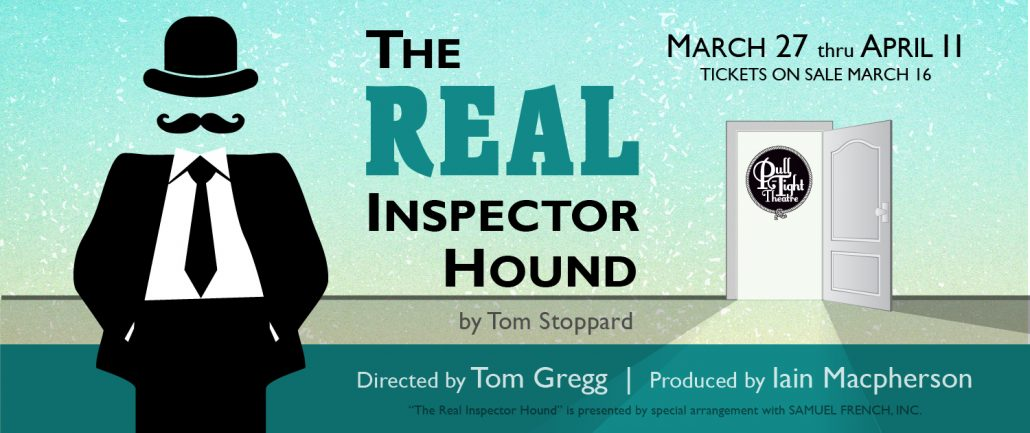 The Real Inspector Hound at Pull-Tight Theatre