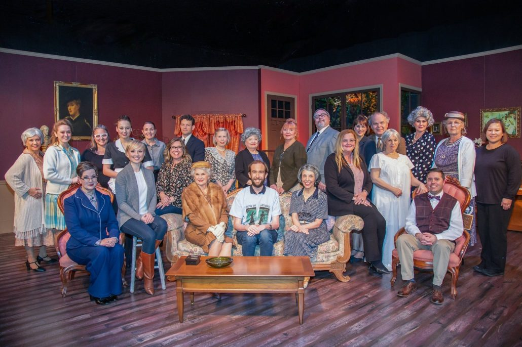 The Cast and Crew of Waiting in the Wings, February 2020