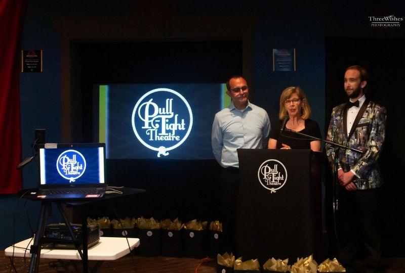 Dan Kassis, Beth Woodruff, and Matt Grimes at the 51st Annual Knot Awards