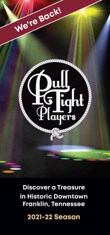 Pull-Tight's 2021-22 season brochure cover