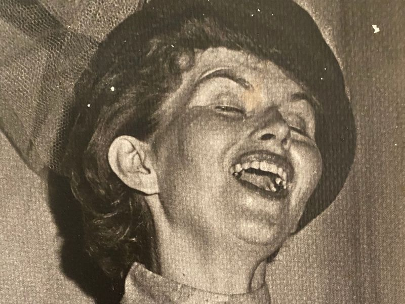 Lyn Pewitt, in Pull-Tight's inaugural production of Our Town, 1968